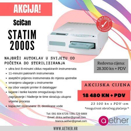 SciCan STATIM 2000S – AKCIJA!